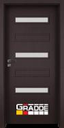 Интериорна врата Gradde Schwerin, модел 9, Орех Рибейра