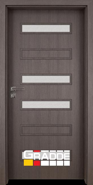 Интериорна врата Gradde Schwerin, модел 6, Череша Сан Диего