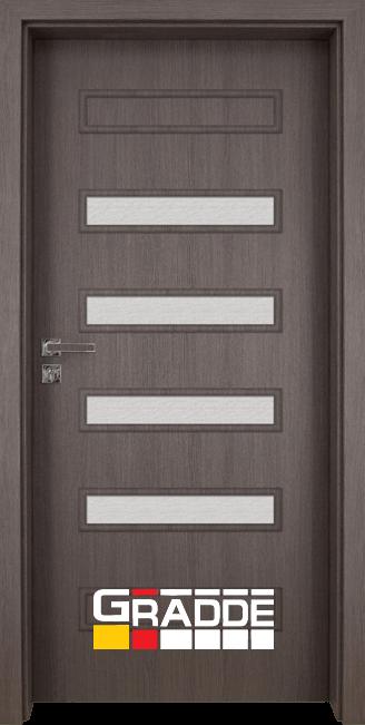 Интериорна врата Gradde Schwerin, модел 8, Череша Сан Диего