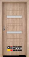 Интериорна врата Gradde Schwerin, модел 10, Дъб Вераде