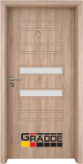 Интериорна врата Gradde Schwerin, модел 3, Дъб Вераде