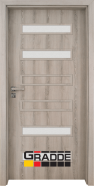 Интериорна врата Gradde Schwerin, модел 2, Ясен Вералинга