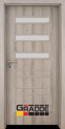 Интериорна врата Gradde Schwerin, модел 4, Дъб Вераде