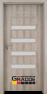 Интериорна врата Gradde Schwerin, модел 8, Ясен Вералинга
