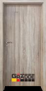 Интериорна врата Gradde Wartburg, модел Full, Орех Рибейра