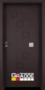 Интериорна врата Gradde Zwinger, модел 1, Орех Рибейра