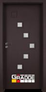 Интериорна врата Gradde Zwinger, модел 3, Орех Рибейра