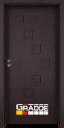 Интериорна врата Gradde Zwinger, модел Full, Орех Рибейра