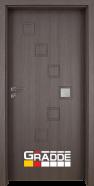 Интериорна врата Gradde Zwinger, модел 1, Череша Сан Диего