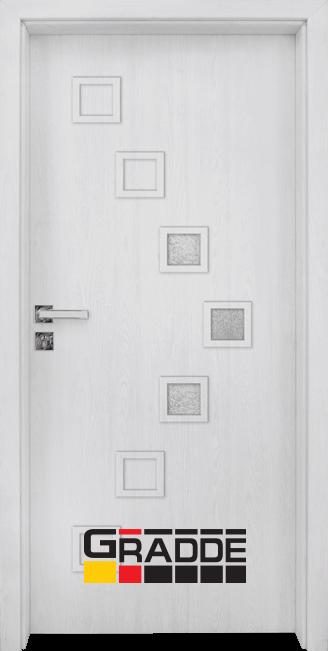 Интериорна врата Gradde Zwinger, модел 2, Сибирска Листвeница