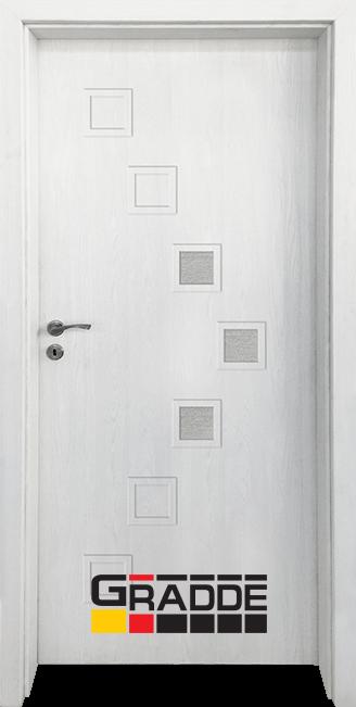 Интериорна врата Gradde Zwinger, модел 2, Орех Рибейра