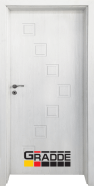 Интериорна врата Gradde Zwinger, модел Full, Сибирска Листвeница