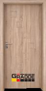 Интериорна врата Gradde Zwinger, модел Full, Дъб Вераде