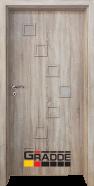 Интериорна врата Gradde Zwinger, модел 1, Сибирска Листвeница