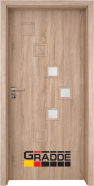 Интериорна врата Gradde Zwinger, модел 2, Дъб Вераде