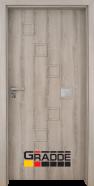 Интериорна врата Gradde Zwinger,модел 1, Дъб Вераде