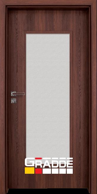 Интериорна врата Gradde Baden, модел 1, Шведски дъб
