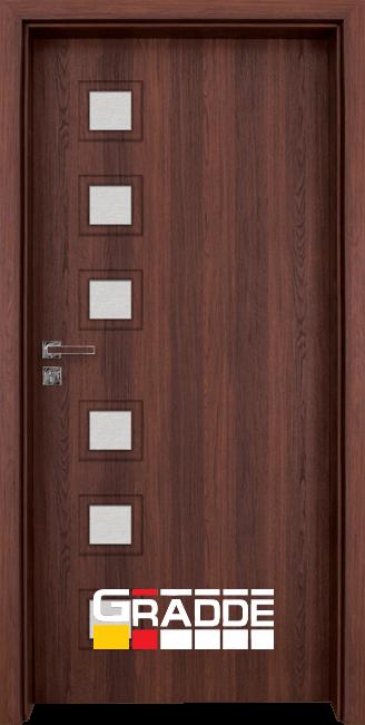 Интериорна врата Gradde Reichsburg, Шведски дъб