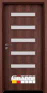 Интериорна врата Gradde Schwerin, Шведски дъб