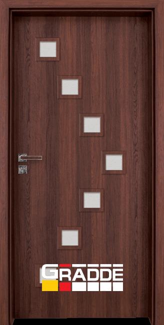 Интериорна врата Gradde Zwinger, Шведски дъб