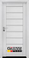Интериорна врата Gradde Axel Glas, цвят Орех Рибейра